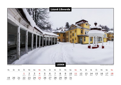 Grafické zpracování nástěnných a stolních kalendářů