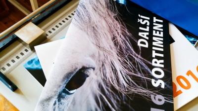 Tisk katalogů a reklamních brožur